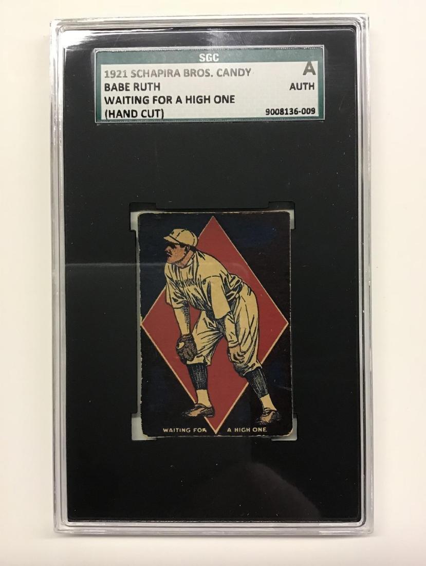 1921 Schapira Bros Company Babe Ruth