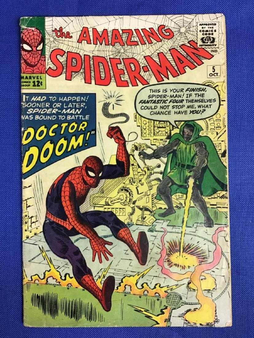 Amazing Spiderman #5