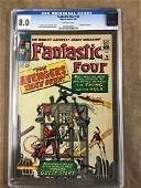 Fantastic Four 26 CGC 80
