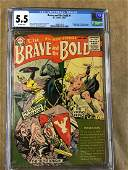 Brave And The Bold #1 CGC 5.5