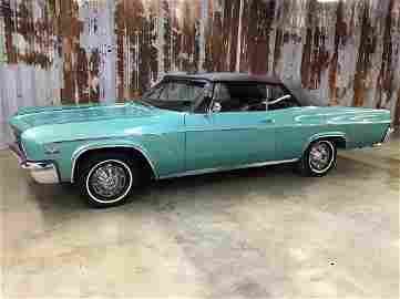 1966 Chevy Impala Super Sport Convertible