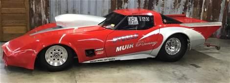 1980 Chevy Corvette Drag Car