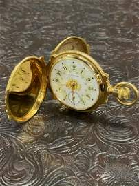 EXCEPTIONAL! 18K E. HOWARD & CO. - N SERIES 15 JEWEL