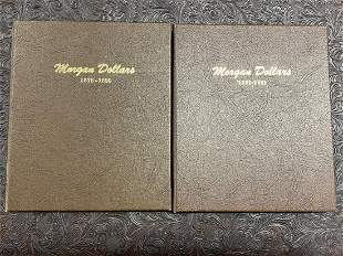 DANSCO MORGAN DOLLAR COLLECTION 1878-1921