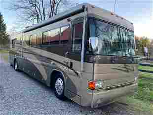 2002 COUNTRY COACH INTRIQUEMOTOR HOME FULLY LOADED