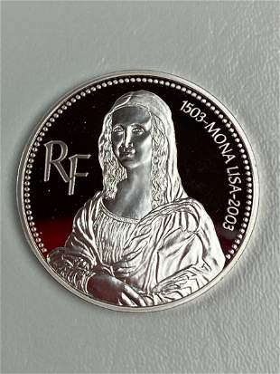 FRANCE 203 SILVER 1-OZ  .999 EURO PROOF
