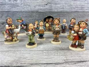 LOT OF 10 HUMMEL FIGURINES