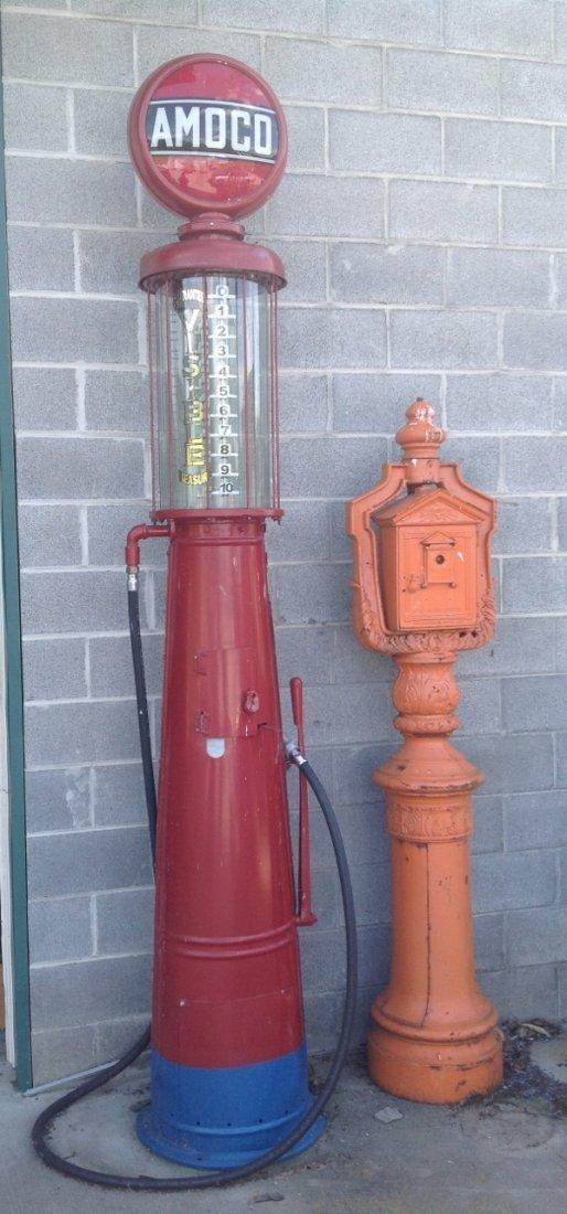 Amoco G13 Gravity Fed Gas Pump