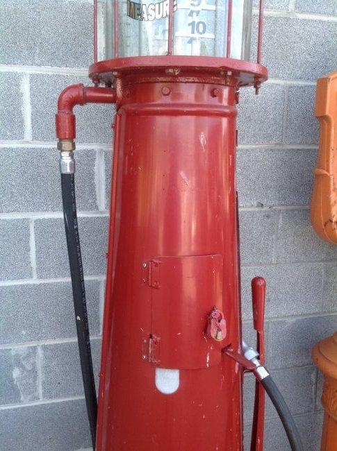 Amoco G13 Gravity Fed Gas Pump - 3