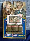 Bank Note 5 Cent Cigar Store SignDisplay