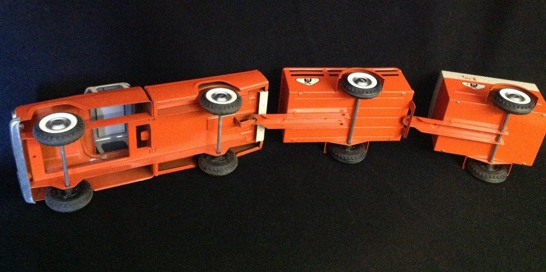 1960's Nylint 3 pc U-Haul Truck Rental Fleet No. 4300 - 5
