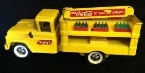 1960's Buddy L Coke Delivery Truck
