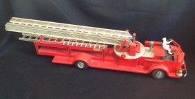 1940's Doepke Model Toys Fire Truck