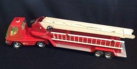 1960's Nylint Hook & Ladder Fire Truck