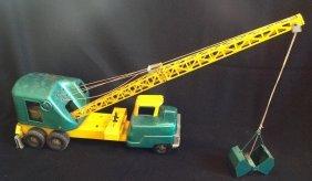 1950's Structo Crane Boom Truck