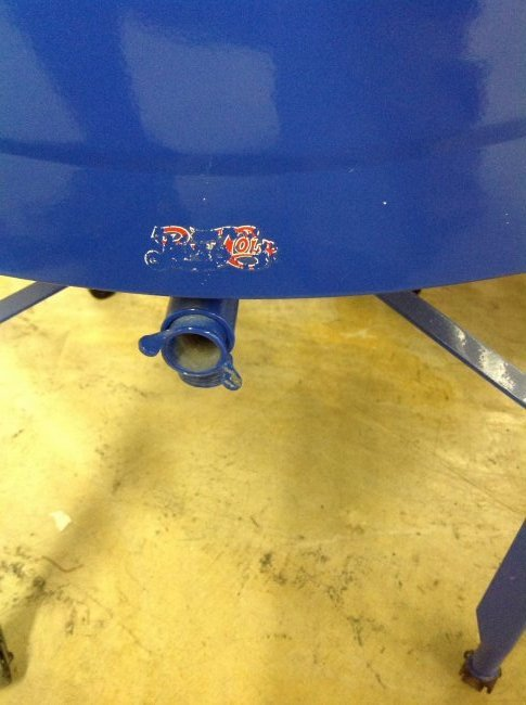 Restored Washtub Converted to Cooler w/Pepsi Decals - 7