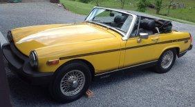Mg 1978 Midget Convertible Car