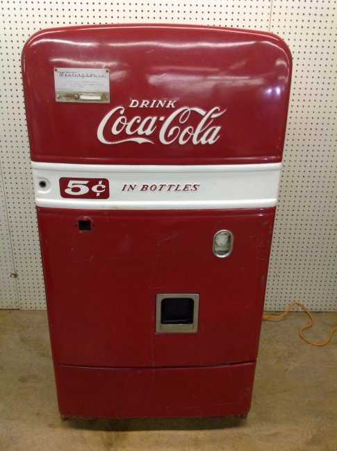 Early 50 S Westinghouse Bv56 Coca Cola Machine