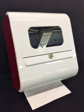 1960's Gas Station Restroom Paper Towel Dispenser