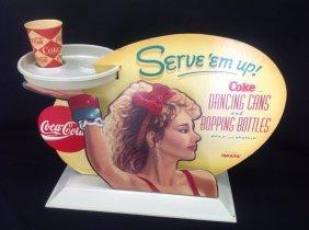 1991 Coca-cola Cardboard Counter Display