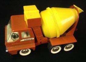 1960's Structo Turbine Cement Truck
