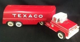 1960's Buddy L Texaco Tanker Delivery Truck