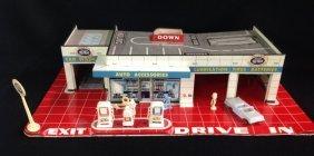 1950's Marx Day & Nite Service Station