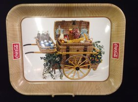 1958 Litho Coca-cola Serving Tray