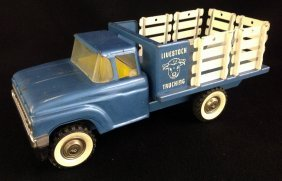 1960's Structo Cattle Stake Truck