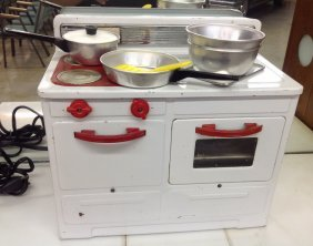 Child's Toy Electric Stove