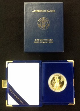 1986 1 Oz. American Eagle $50 Gold Proof Coin