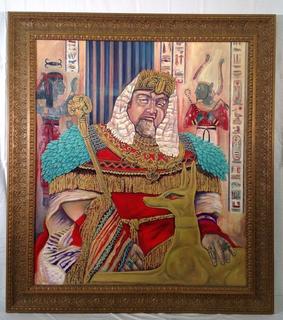 """King Tut"" Painting"