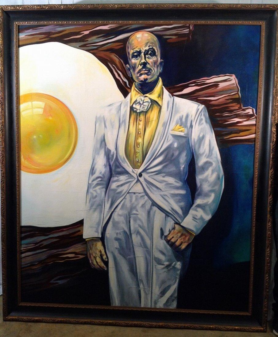 """""""Mr. Egghead"""" Painting"""
