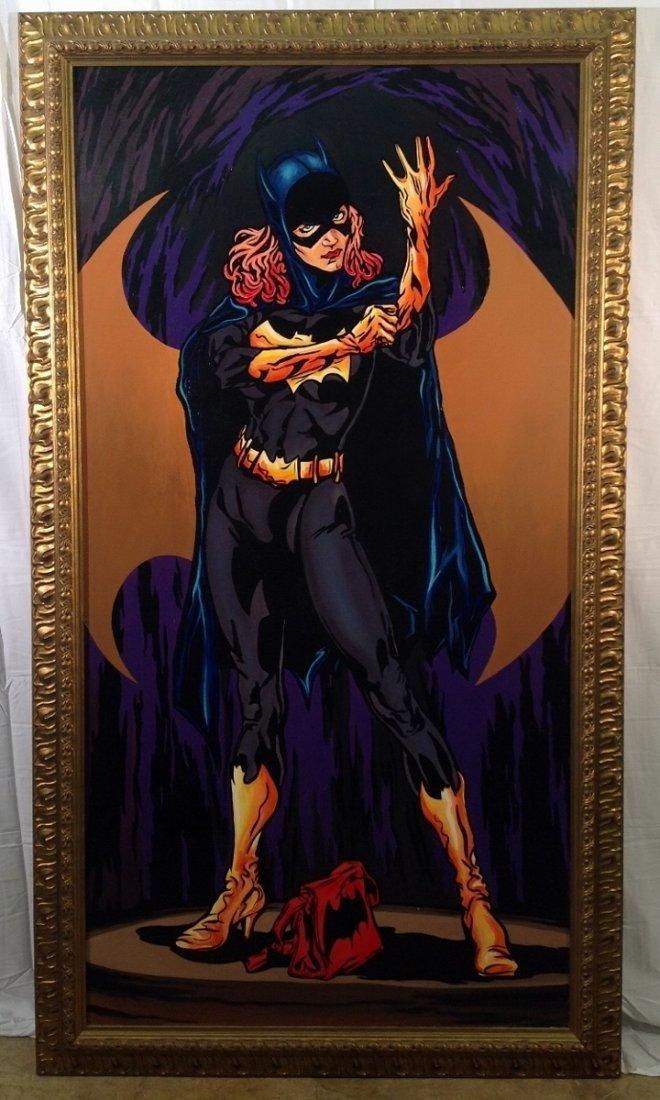 """""""Batgirl"""" Painting"""