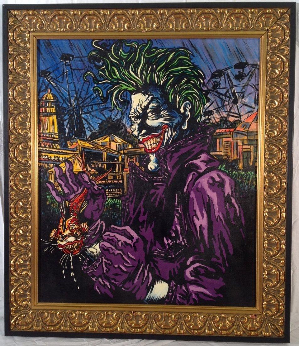 """The Joker"" Painting"