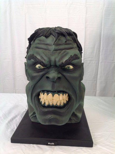Incredible Hulk Head Mini Bust by Alex Ross