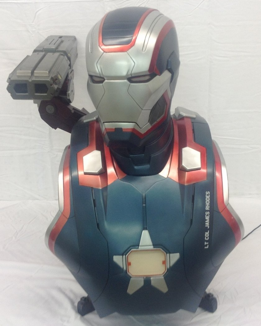 Iron Patriot Life Size Bust by Sideshow Collectibles