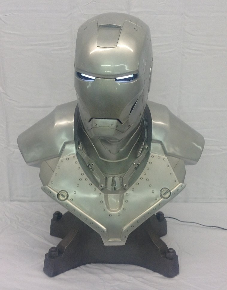 Iron Man Mark II Bust Life Size by Sideshow