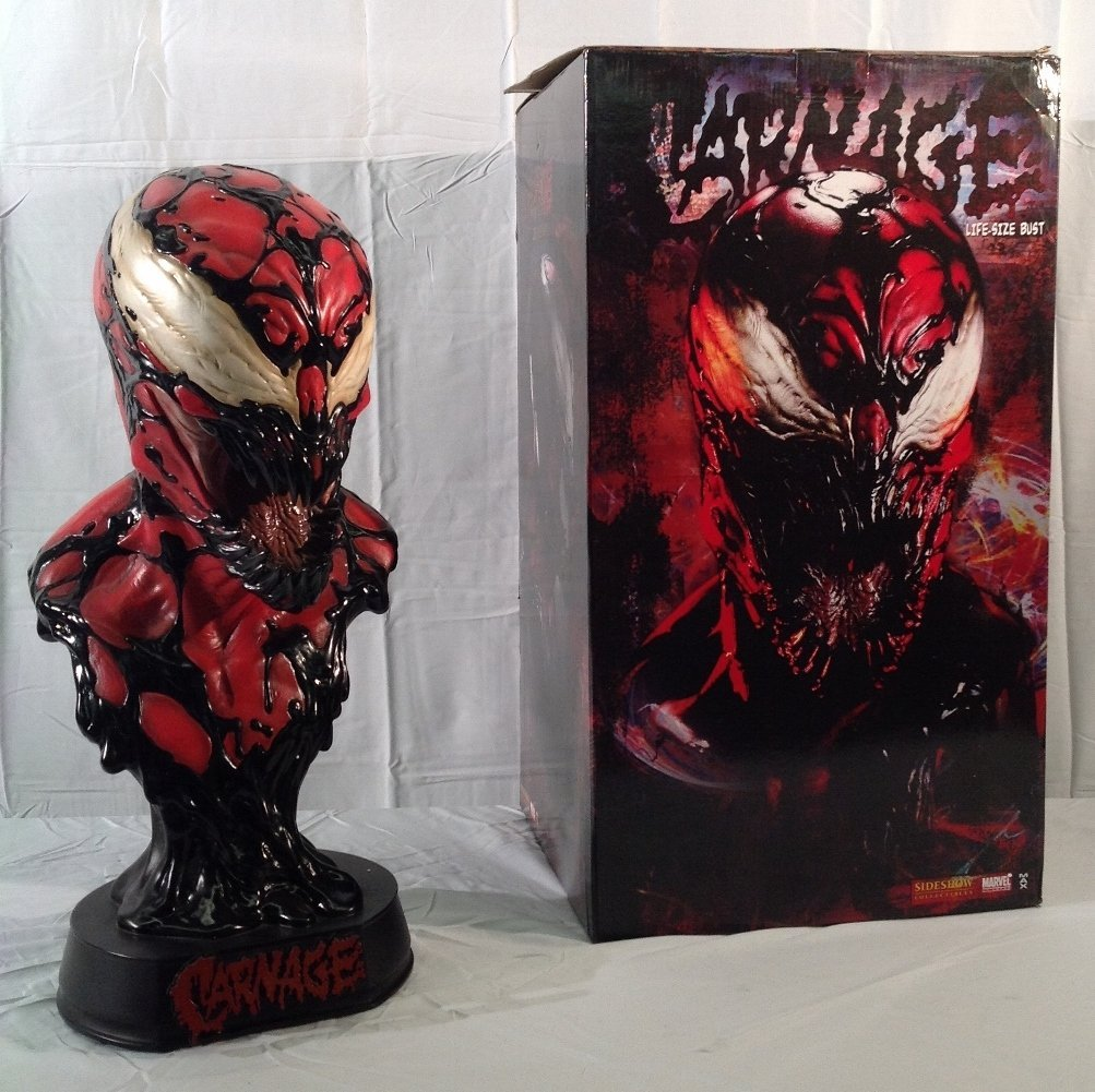Carnage Life Size Bust by Sideshow Collectibles
