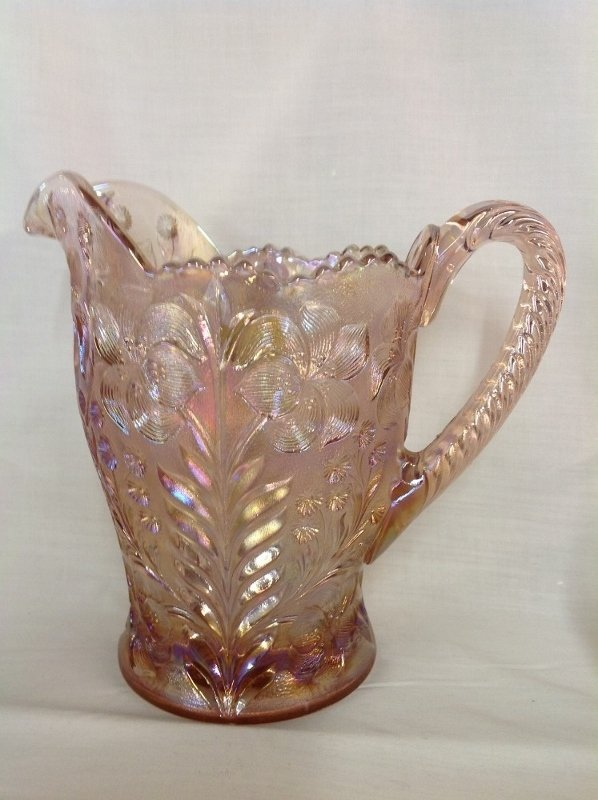 Imperial Glass Pink Dogwood Water Set - 3