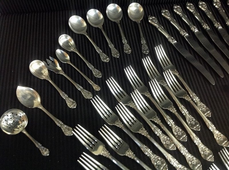 Gorham Sterling Silver Silverware - King Edward Pattern - 5