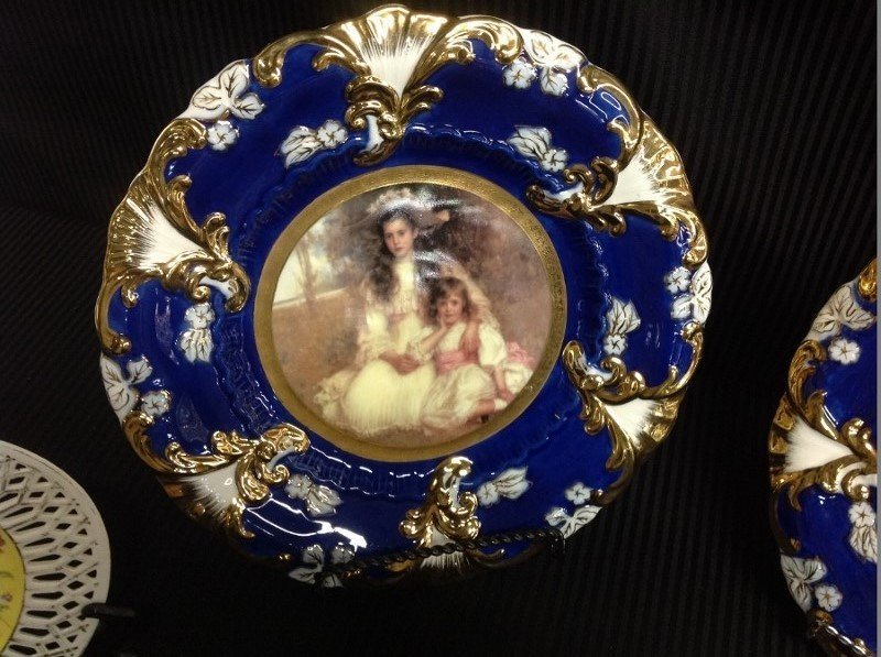Decorative Austrian China - 2