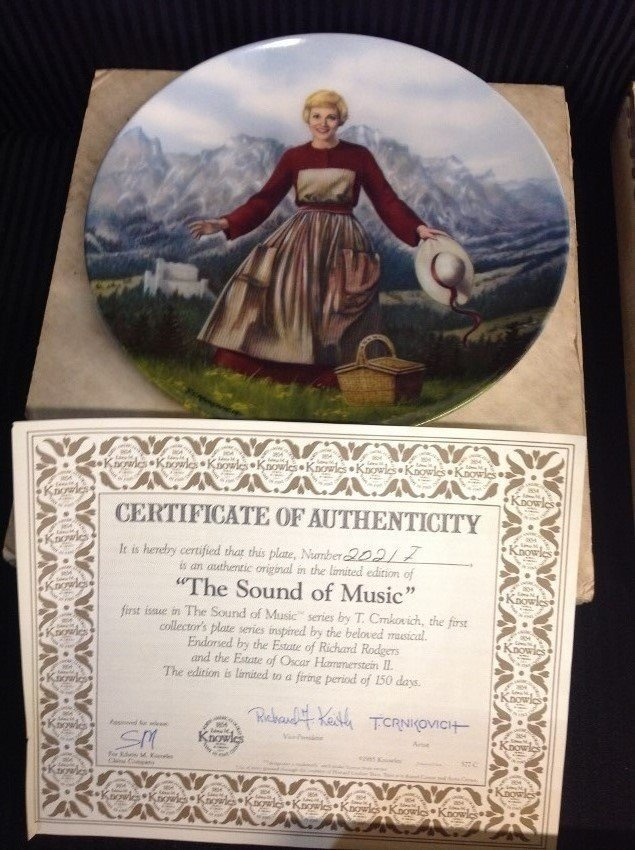 The Sound of Music Collector's Plates by Edwin M. - 3