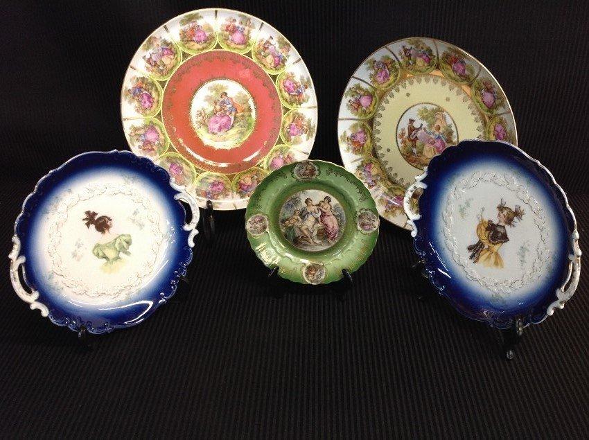 Lot of 5 German Plates