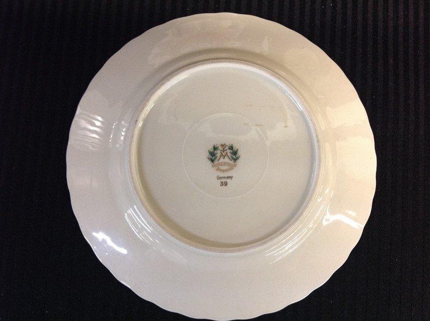 Lot of 5 German Plates - 6