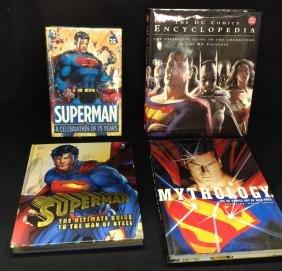 Lot of 4 Superman Books