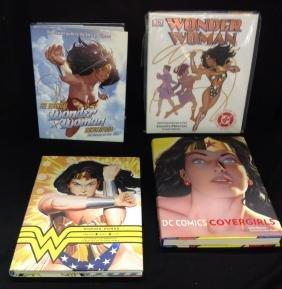 Lot of 4 Wonder Woman Books
