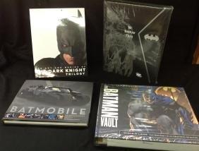 Lot of 4 Batman Books