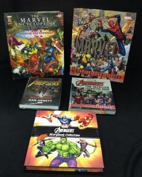 Lot of 5 Marvel Books