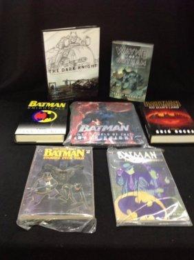 Lot of 7 Batman Books